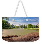 Birds Eye View Weekender Tote Bag
