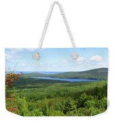 Bird's Eye View Of Eagle Lake Weekender Tote Bag
