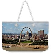 Bird's Eye View Of St.louis  Weekender Tote Bag
