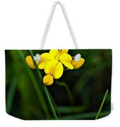 Bird's-foot Trefoil Weekender Tote Bag