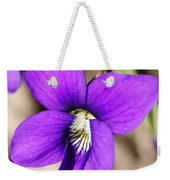 Birds Foot Violet Weekender Tote Bag