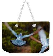 Birds In Flight 030515ab Weekender Tote Bag