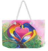 Birds In Love 02 Weekender Tote Bag