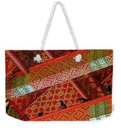 Birds In Rafters Of Royal Temple At Grand Palace Of Thailand  Weekender Tote Bag