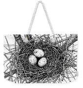 Birds Nest Weekender Tote Bag