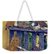 Birds Of A Feather Stay Together Weekender Tote Bag