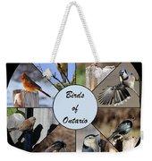 Birds Of Ontario Weekender Tote Bag
