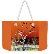 Birds On Tree Weekender Tote Bag