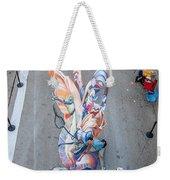 Birdseye View Weekender Tote Bag