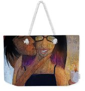 Birrthday Girl Weekender Tote Bag