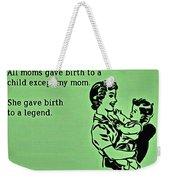 Birth Of A Legend Weekender Tote Bag