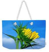 Birth Of A Sunflower By Kaye Menner Weekender Tote Bag