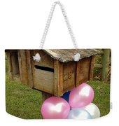 Birthday Balloons Weekender Tote Bag