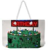 Birthday Cake For Geeks Weekender Tote Bag