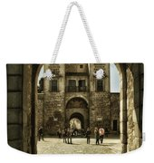 Bisagra Gate And Courtyard Weekender Tote Bag