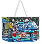 Bisbee Arizona Art Car Weekender Tote Bag