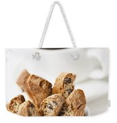 Biscotti And Coffee Weekender Tote Bag