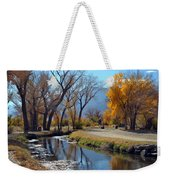 Bishop Creek Weekender Tote Bag