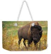 Bison Buffalo Weekender Tote Bag