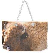 Bison Lick Weekender Tote Bag