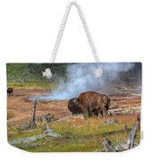Bison Mud Weekender Tote Bag