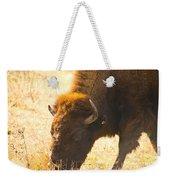 Bison Wander Weekender Tote Bag