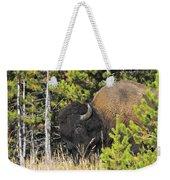 Bison's Portrait Weekender Tote Bag