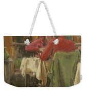 Bistro In Beziers, 2007 Pastel On Paper Weekender Tote Bag