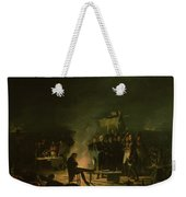 Bivouac Of Napoleon I 1769-1821 On The Battlefield Of The Battle Of Wagram, 5th-6th July 1809, 1810 Weekender Tote Bag