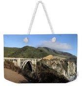 Bixby Creek Bridge Weekender Tote Bag