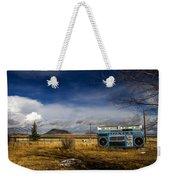 Bizarre Giant Radio In Idaho Weekender Tote Bag