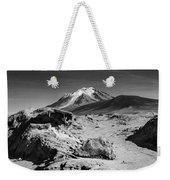 Bizarre Landscape Bolivia Black And White Weekender Tote Bag