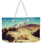 Bizarre Landscape Bolivia Old Postcard Weekender Tote Bag