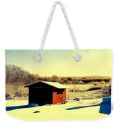 Black And Color Weekender Tote Bag by Frozen in Time Fine Art Photography