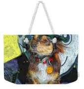 Black And Tan Chihuahua - Such A Good Little Witch Weekender Tote Bag
