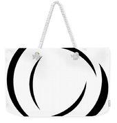 Black And White - 105 Weekender Tote Bag