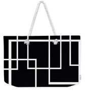 Black And White Art - 145 Weekender Tote Bag