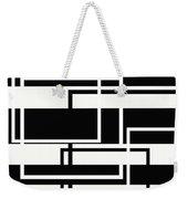 Black And White Art - 151 Weekender Tote Bag