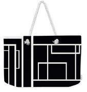 Black And White Art - 153 Weekender Tote Bag
