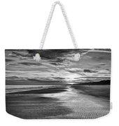 Black And White Beach Weekender Tote Bag