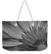Black And White Blossom Weekender Tote Bag