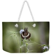 Black And White Butterfly V2 Weekender Tote Bag