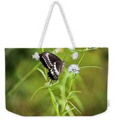 Black And White Butterfly V3 Weekender Tote Bag