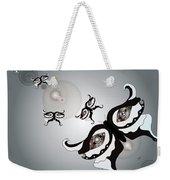 Black And White Butterflyillustration Weekender Tote Bag