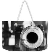 Black And White Cannon Weekender Tote Bag