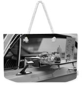 Black And White Carhop Weekender Tote Bag