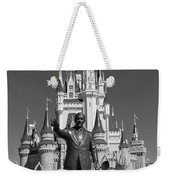 Black And White Disney And Mickey Weekender Tote Bag