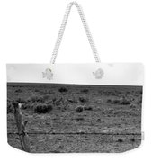 Black And White Fence  Weekender Tote Bag