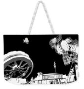Black And White Festival Night Weekender Tote Bag
