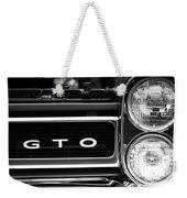Black And White Gto Weekender Tote Bag